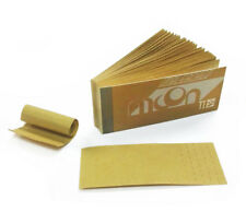 5 booklets of MOON Unbleached Rolling Paper Filter Tips 250 sheets totally