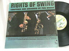 PHIL WOODS Rights of Swing Curtis Fuller Benny Bailey Sahib Shihab Barnaby LP