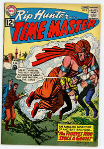 JERRY WEIST ESTATE: RIP HUNTER… TIME MASTER #8 (DC 1962) VF/NM condition! NO RES