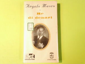 RE DI DENARI ANGELO MUSCO VHS