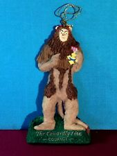 The Cowardly Lion Courage Christmas Ornament by Kurt Adler Retired Line Htg