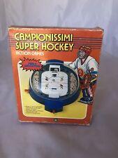 Vintage Game CAMPIONISSIMI SUPER HOCKEY PlayTime Giochi Preziosi 1988.