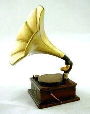 Neuf Maison De Poupée Salle De Musique Miniature Accessoire Gramaphone Lecteur