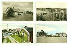 Sweden Vintage RPPC Lot of 4 Postcards Various Scenes Two Colorized 5.5 x 3.5