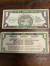 Esso Oil Lucky Tiger Money Put a Tiger in Your Tank