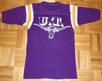 Texas Longhorns Jersey Football NCAA University Single Stitch Vintage 80s Small