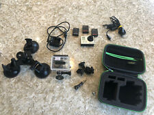 GoPro Hero 3 Silver Edition 64GB SD Card 3 Batteries, Case, Suction Mount