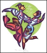 Agirba Ruslan 1996 Exlibris X6 Project Dance Folklore Folk Music p92
