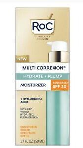 RoC Multi Correxion Hydrate +plump Moistuizer spf30 New In Box! EXP 6-23