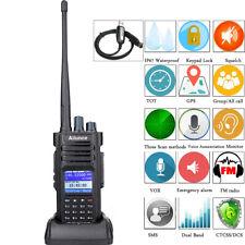 Walkie Talkie Ailunce HD1 GPS UHF+VHF IP67 Waterproof DMR Handgheld Radio VOX