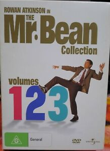 The Mr. Bean Collection  (3-Disc, DVD) Region 4