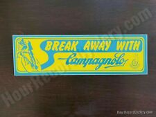 Campagnolo Bumper Sticker Break Away bicycle tool box sticker vintage style repr