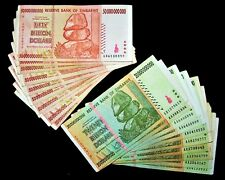 20 Banknotes-10 x 20 & 50 Billion Dollar banknotes / currency-2008/AA or AB