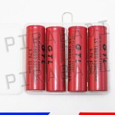 4 PILES ACCUS RECHARGEABLE 18650 3.7V 5300mAh Li-ion + BOITE DE RANGEMENT OFFERT