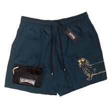Vilebrequin Mens Swim Shorts - Motu Classic Cut Embroidered Sunny Dog