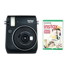 Fujifilm Instax Mini 70 - Instant Camera + 10 Shots