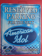 Disney's Hollywood Studios American Idol Experience Metal Sign - New In Package