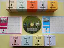 RACE NIGHT DVD SET EXCITING VOL 2 WITH 30 PER RUNNER TICKETS GREAT FUNDRAISER