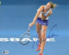 Karolina Pliskova Tennis Signed Auto 8x10 PHOTO Beckett BAS COA
