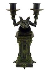 New Disney Parks The Haunted Mansion Gargoyle Candelabra Candle Holder halloween