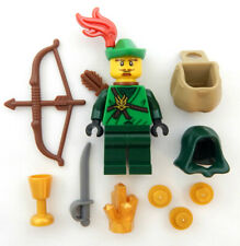 NEW LEGO ROBIN HOOD MINIFIG castle figure forestman minifigure forest man knight