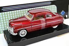 MERCURY COUPE 1949 '49 MOTORMAX 73225 1:24 NEW DIECAST MODEL RED