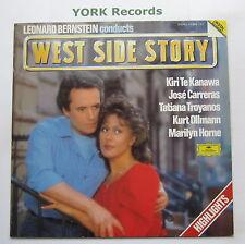 LEONARD BERNSTEIN - West Side Story Highlights - Ex Con  LP Record DG 415 963-1