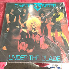 TWISTED SISTER - UNDER THE BLADE - IMPORT LP 1982 SEALED MINT ON SECRET/INT'L