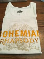 Queen Bohemian Rhapsody Movie Promo Tank Top T-Shirt Large Freddie Mercury