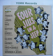 FOUR JILLS IN A JEEP - Film Soundtrack - Ex Con LP Record Hollywood Soundstage