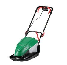 Qualcast 1500W Electric Hover Lawn Mower 33cm Garden Grass Cutter Cutting Used
