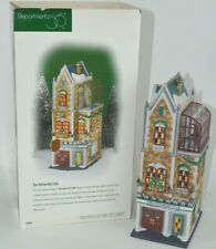 Department 56 University Club Christmas in the City Building 58945 Retired Guc!