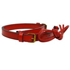 Authentic LOUIS VUITTON Noe Shoulder Strap Drawstring Cord 2 Set Red Epi E06851