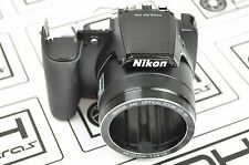Nikon COOLPIX P90 Front Cover With Rubber Replacement Repair Part DH5466