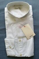 Celio Women's White Button Up Cotton Shirt Size EU S Small UK 14 New With Tags