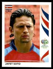 Panini FIFA 2006 World Cup sticker Germany #50 Jafet Soto Costa Rica