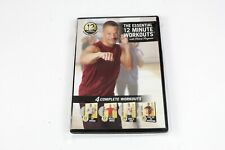 The Essential 12 Minute Workouts Fat/Muscle Maker/Tone/Fight Fat New 2008