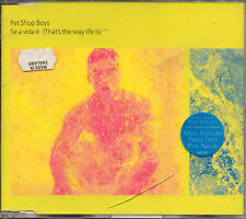 Se A Vida E (That's the Way Life Is), Pet Shop Boys, CD UK Single