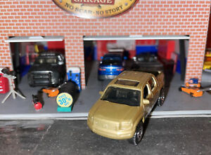 Matchbox - New Loose Gold Honda Ridgeline W/ Hitch For Pulling 1:64 Die Cast