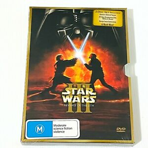 Star Wars Episode III 3 - Revenge Of The Sith DVD 2 Disc Set Special Edition R4