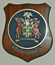 Thames Valley Police wall plaque shield crest constabulary