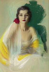 Rolf Armstrong Pin Up Girls Giclee Art Paper Print Poster Reproduction