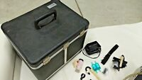 NICE!! MIE INC MODEL RAM-1 REAL TIME AEROSOL MONITOR IN CASE WITH EXTRAS