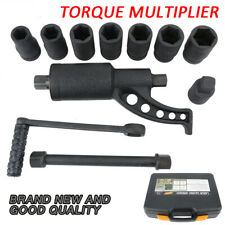 1:58 Heavy Duty Torque Multiplier Wheel Nut Sockets Wrench Tool Set Kit AUS