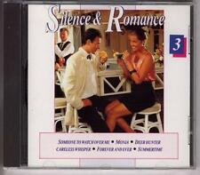 SILENCE & ROMANCE 3  DUTCH CD Kajem Johnny Pearson Piet Noordijk  EASY LISTENING