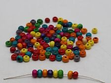15000 Mixed Rondelle Tiny Wood Spacer Beads 4x3mm HX