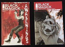 Black Magick 1 A & B Greg Rucka Nicola Scott 1st Print Coming To TV!