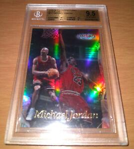 1998-99 Topps Gold Label BLACK LABEL #GL1 Michael Jordan BGS 9.5 GEM MINT 90s