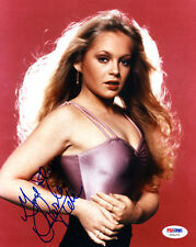 (Ssg) Charlene Tilton Signed 8X10 Color Photo with a Psa/Dna Coa
