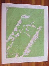 Warm Springs Virginia 1961 Original Vintage Usgs Topo Map